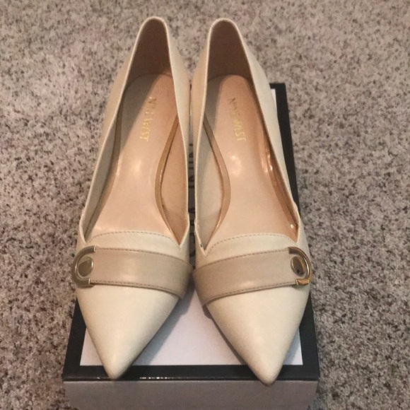 Nine West Shoes | Off White Kitten